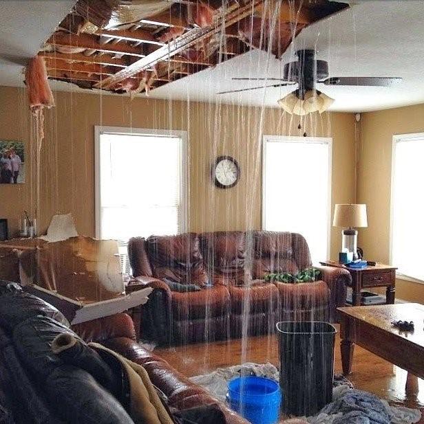 Water Damaged Ceilings